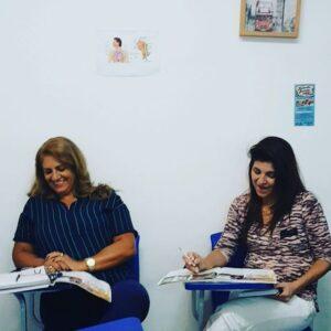 Foto de Alunas em Aula - Instituto Serena