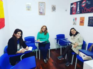 Foto Alunas em sala de Aula - Instituto Serena